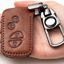 Top Layer Leather Remote Car Key Fob Case Cover Bag For LEXUS ES GS IS LS LX RX RC RX350 ES350 IS350