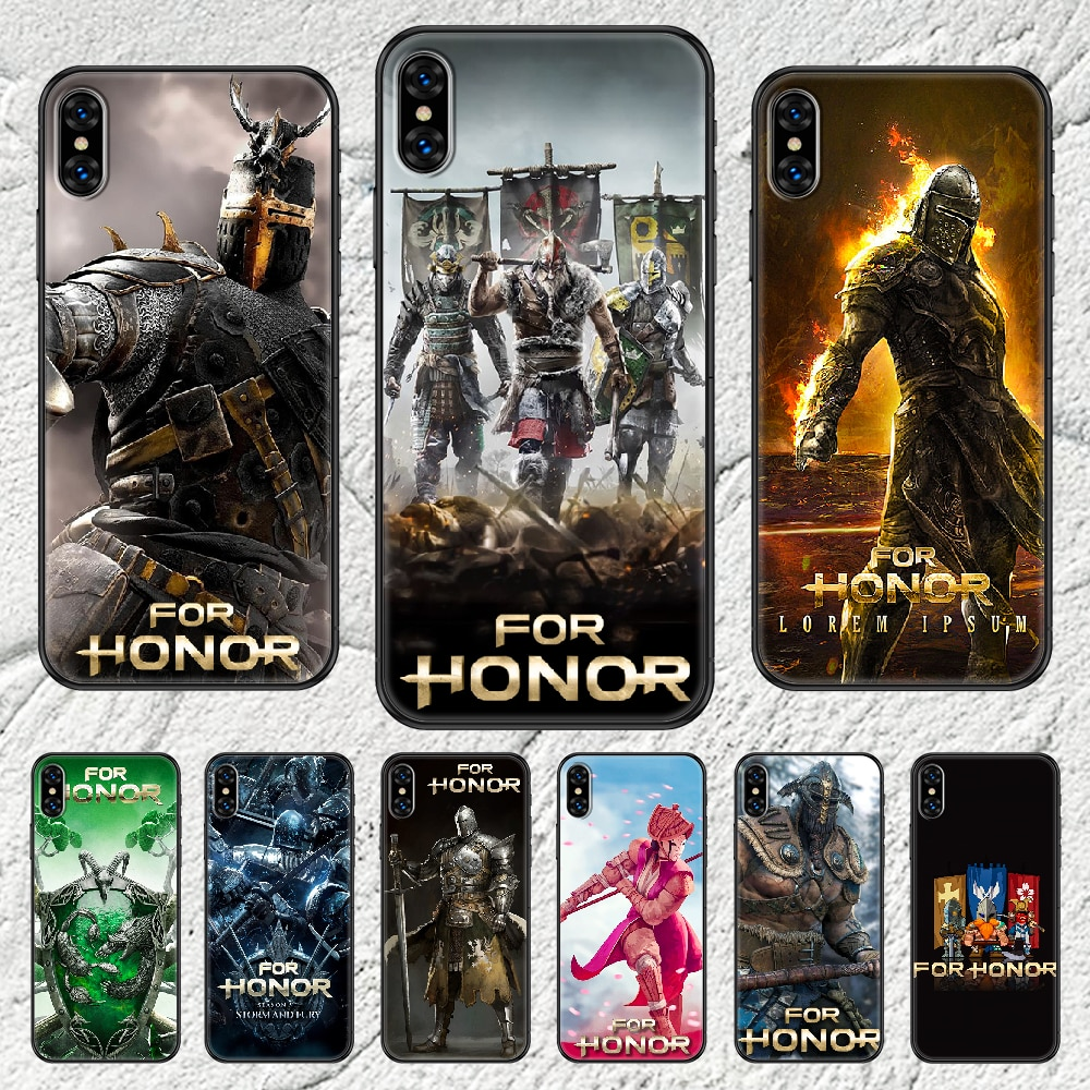 For Honor Warrior Phone Case Cover Hull For iphone 5 5s se 2 6 6s 7 8 12 mini plus X XS XR 11 PRO MA