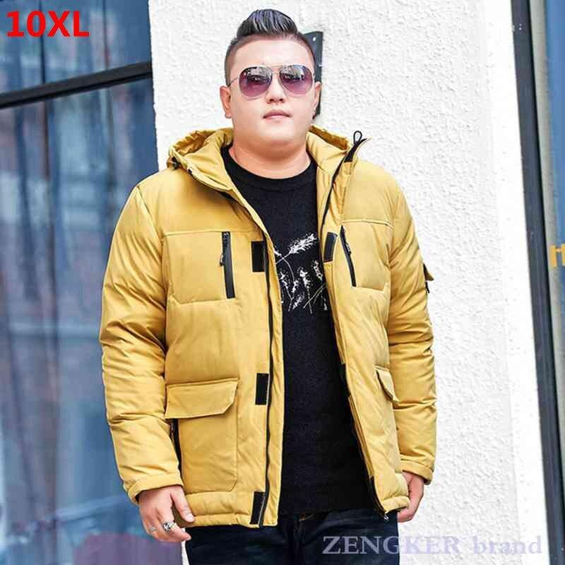 Зимняя женская куртка, Мужская короткая Рабочая куртка для молодых студентов, теплая куртка большого размера 10XL 9XL