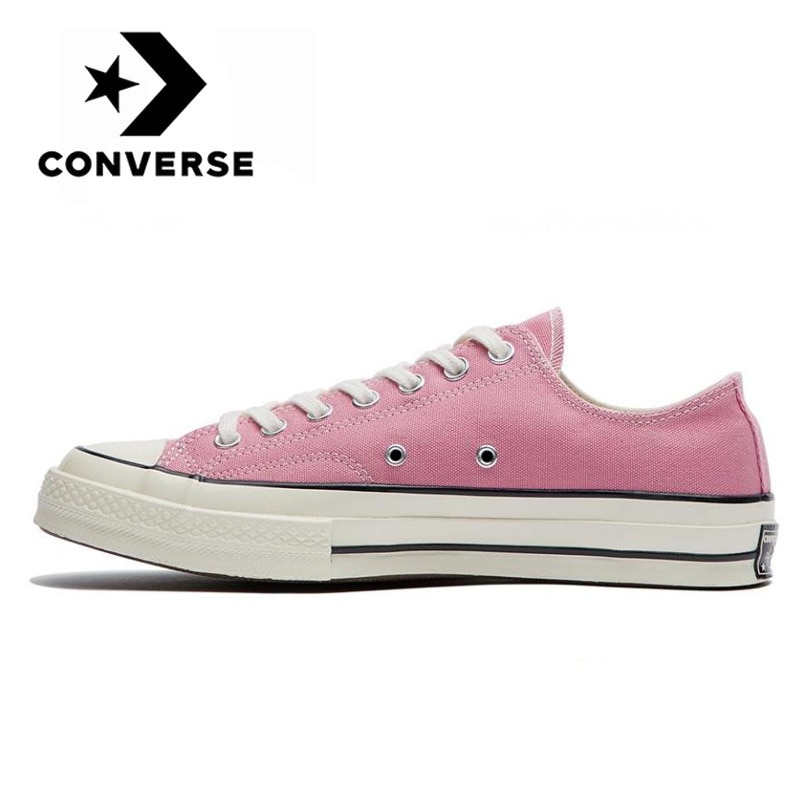 Оригинальные кроссовки для скейтбординга Converse All Star 1970s, удобные повседневные прочные розовые парусиновые туфли на плоской подошве
