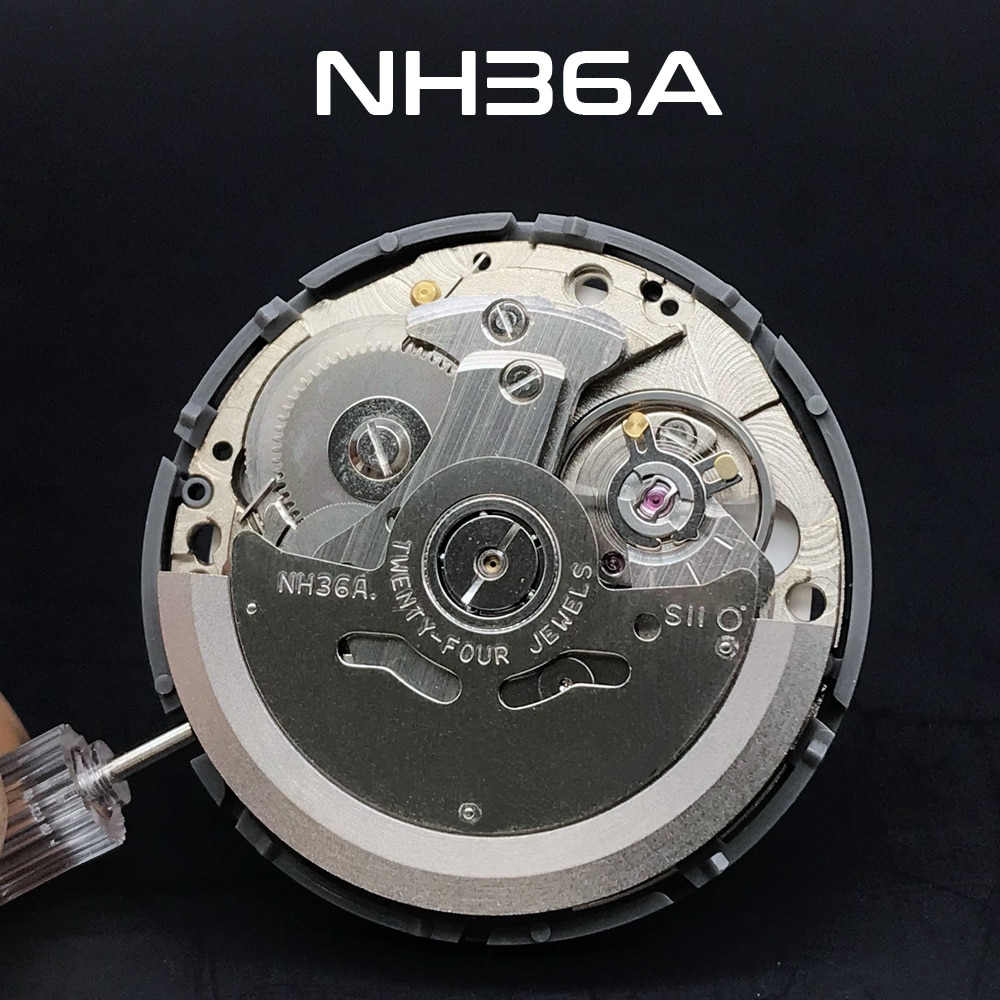 For 4R36/NH36 Movement Automatic Mechanical Watch Wrist Double Calendar Movement NH36A Used To Replace 24 Jewels Wrist Watch enlarge