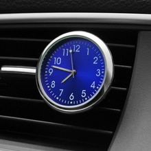 Luminous Car Clock Clip Air Freshener Auto Watch Automobiles Air Vent Mechanics Quartz Clock Automot