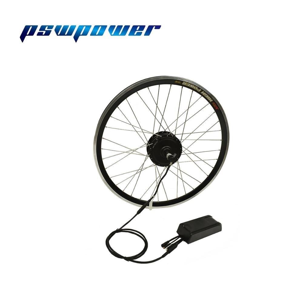 "MXUS bicicleta eléctrica kit de 36V 250W 26 ""28"" 700C XF08 rueda trasera Motor sin escobillas de bicicleta de Motor E kit de conversión de bicicleta"