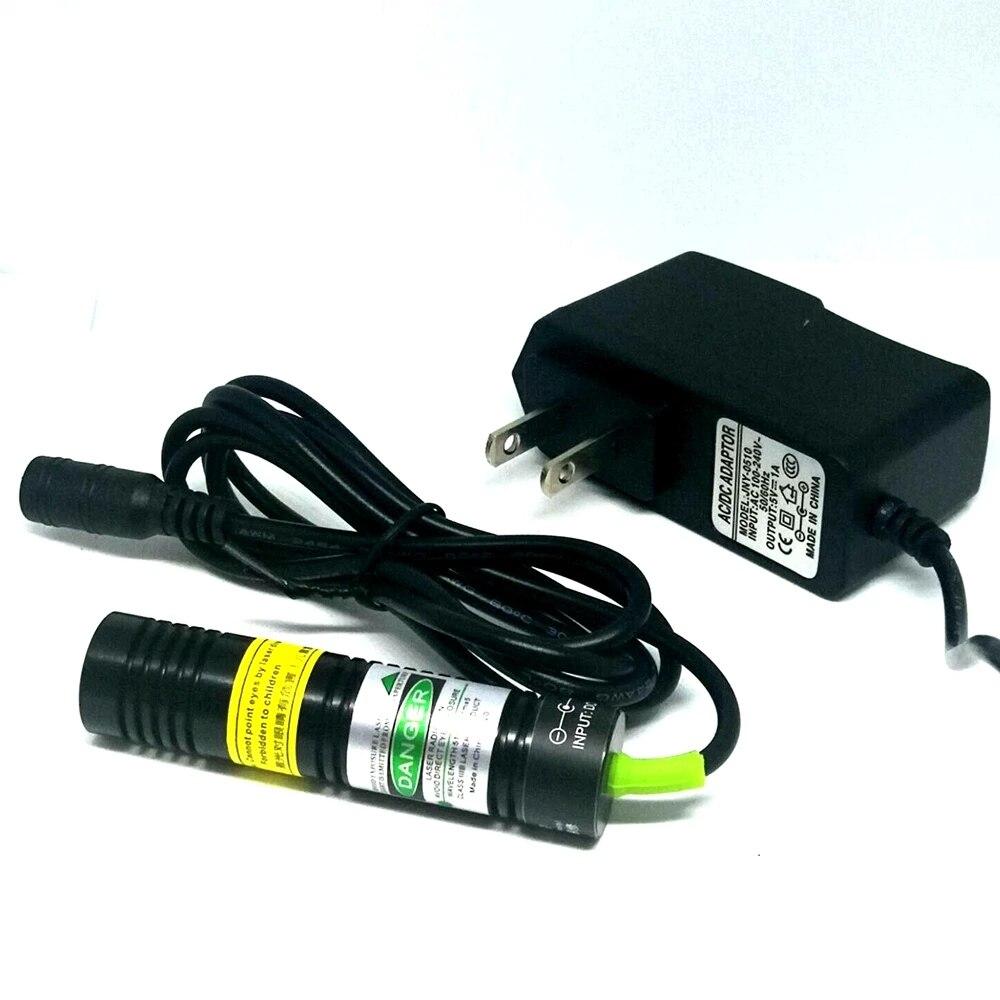 1875 мм 532 нм 10 мВт зеленый точка луч лазер диод модуль с 5 В AC адаптер +% 26 Локатор