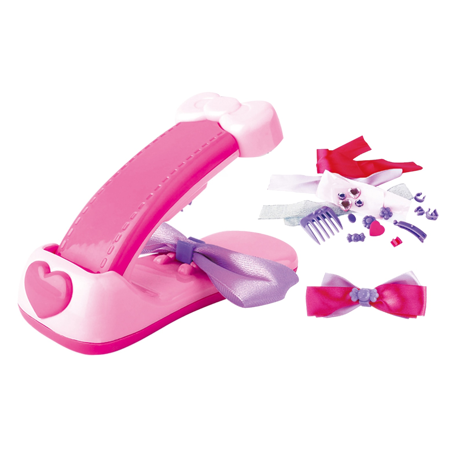 a001 fashionable hair style roller maker black Multi-color Bow Maker Kit, for Ages 7 to up, Fashionable Hair Bow Making Kit