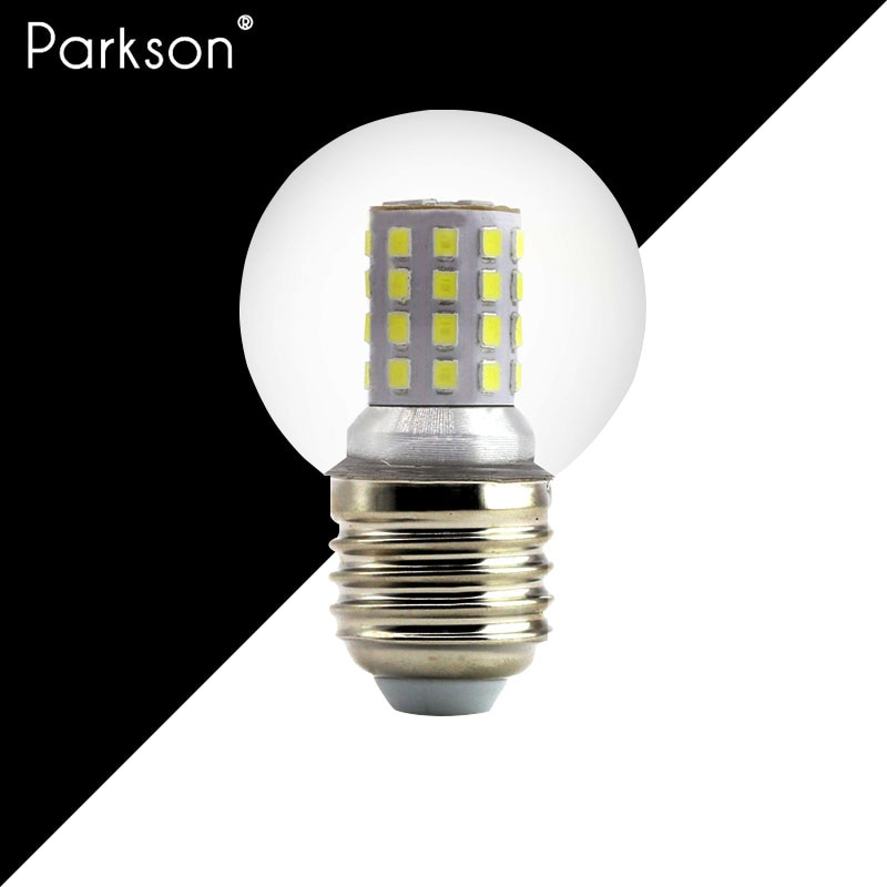 Lámpara LED E27, de 220V Bombilla de luz, judías mágicas G45 reales, 5W, 7W, 9W, lámpara LED de alto brillo, Bombilla, foco colgante, lámpara de mesa