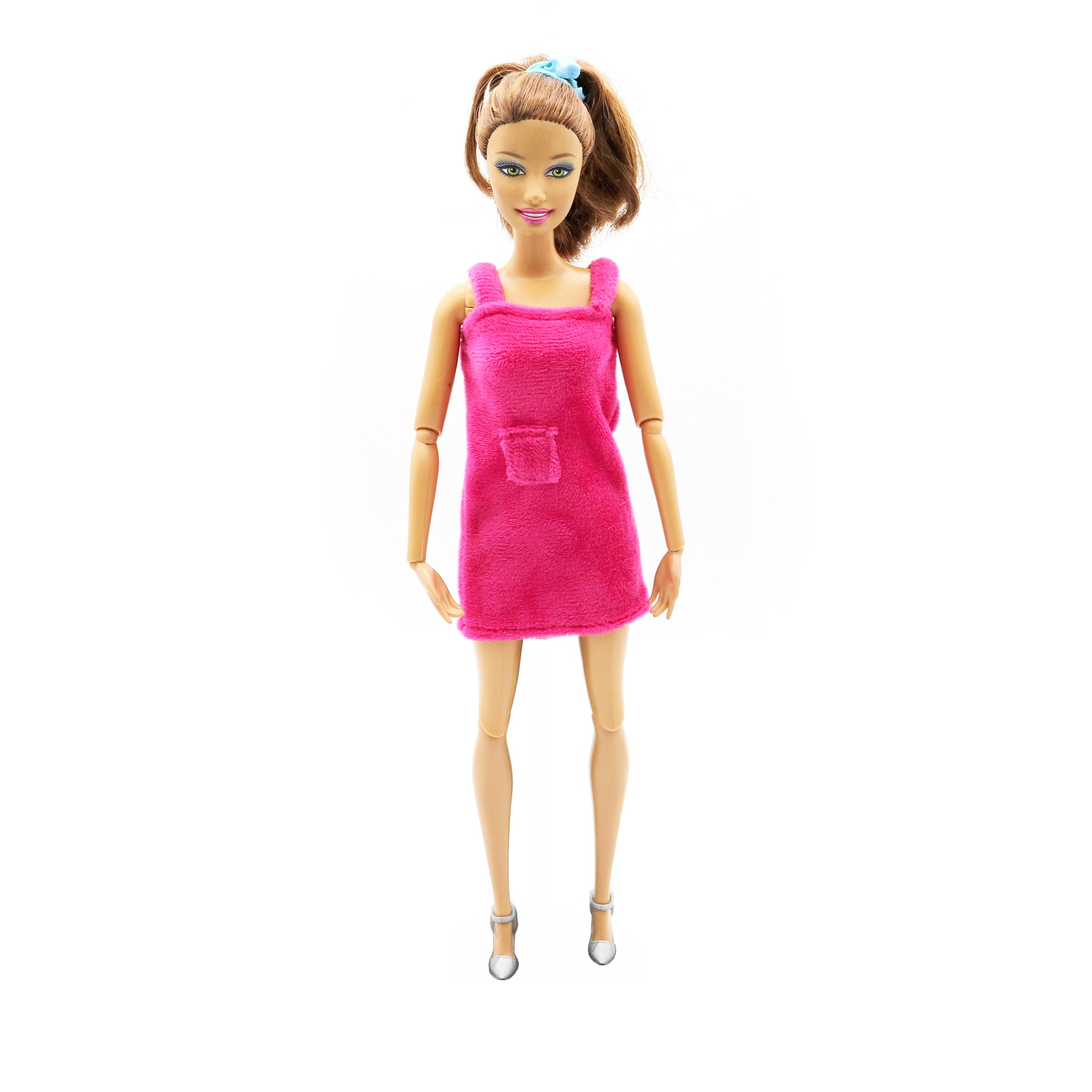 princess dress outfits doll clothes for barbie accessories play house dressing up costume kids toys gift Red Sleep Wear Outfits for Barbie  BJD Doll Dress Clothes Accessories Play House Dressing Up  Kids Toys