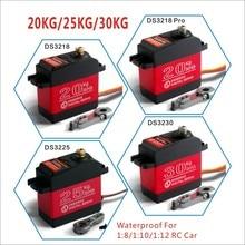 1 X servo resistente al agua DS3218 Actualización y PRO de alta velocidad servo digital de engranaje de metal baja servo 20KG/09S por 1/8 Escala de 1/10 coches RC