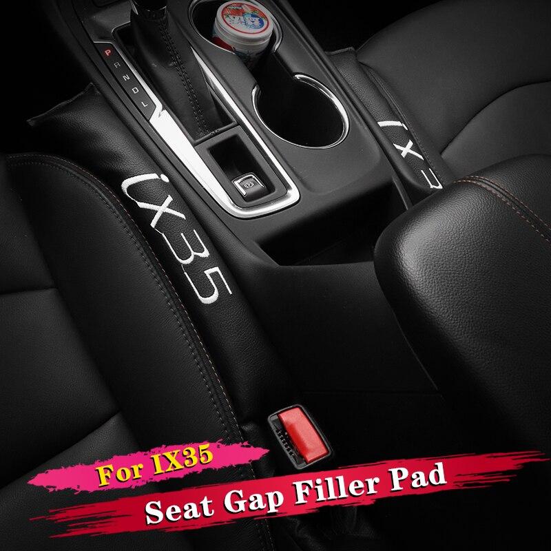 2 uds Interior del coche para espacio de asiento relleno de cojín suave relleno espaciador accesorios para Hyundai IX35 2009-2019, 2018, 2017, 2016, 2015, 2014, 2013