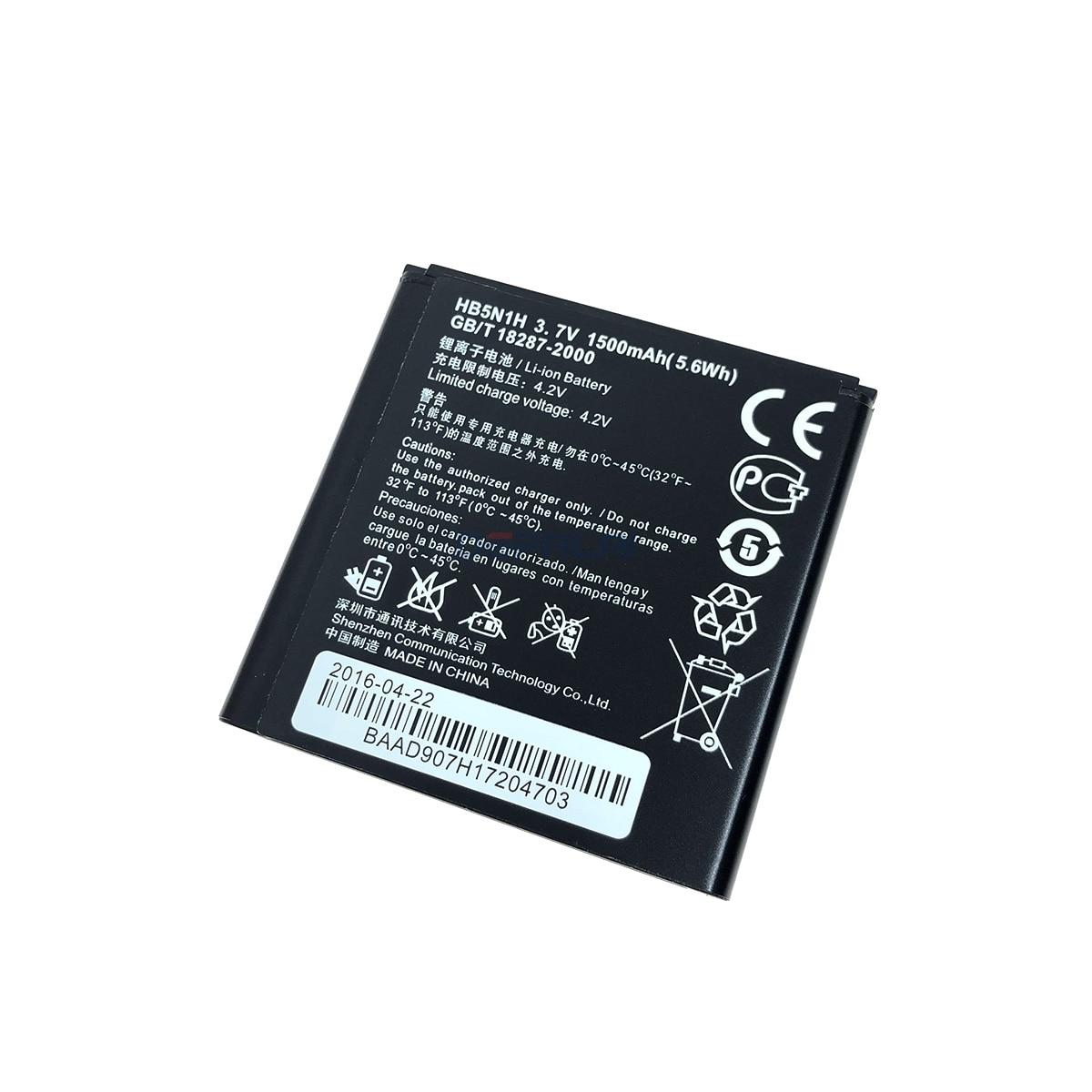Nueva 1500mAh HB5N1H batería para Huawei Ascend G300 G305T C8812 U8815 U8818 T8828 M660 de la batería del teléfono celular