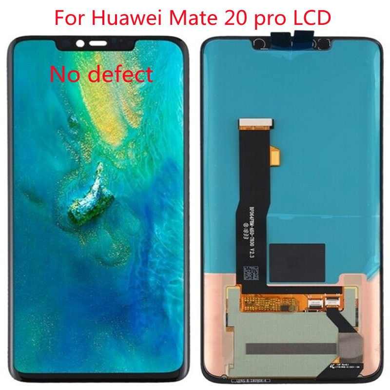 AAA Original 6.39'' Display Fingerprint Replacement for Huawei Mate 20 Pro LCD Touch Screen MATE20 pro LCD Assembly No defect