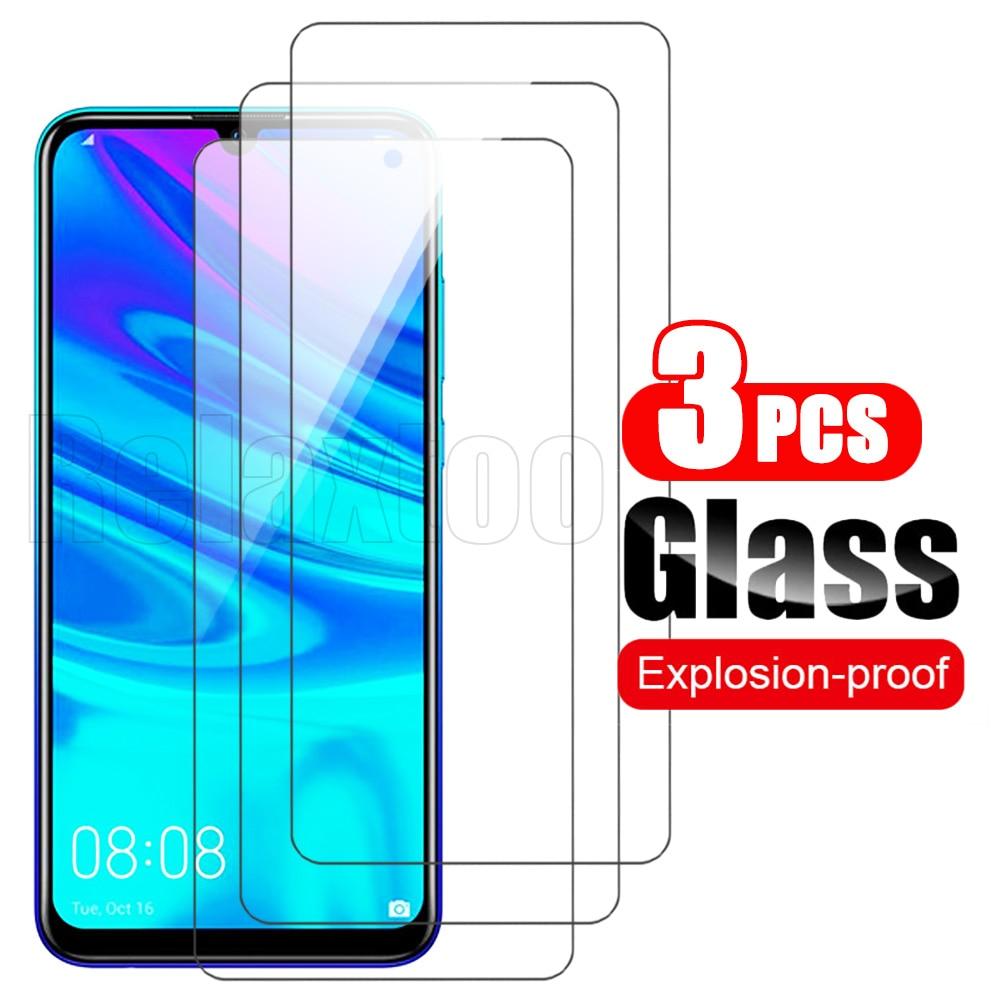 3 piezas de vidrio templado fig-lx1 cristal para huawey huawei p smart...