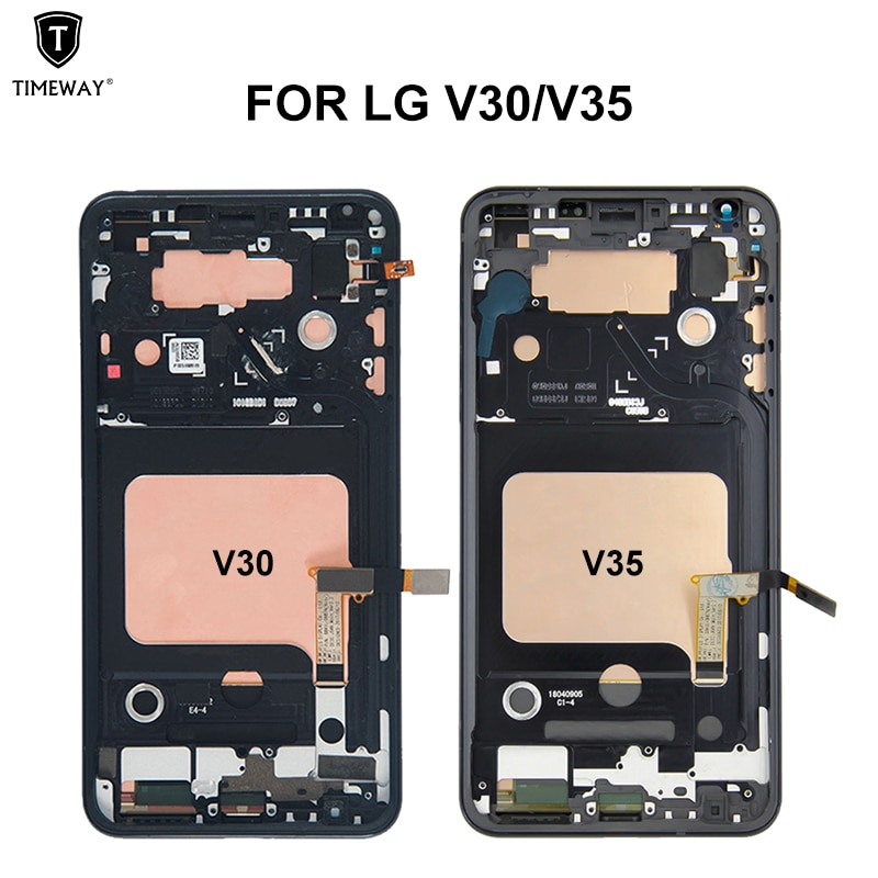 AMOLED For LG V50 V40 V30 V20 V10 V60 LCD Display Touch Screen Digitizer Assembly Replacement Display Free shipping with gift enlarge