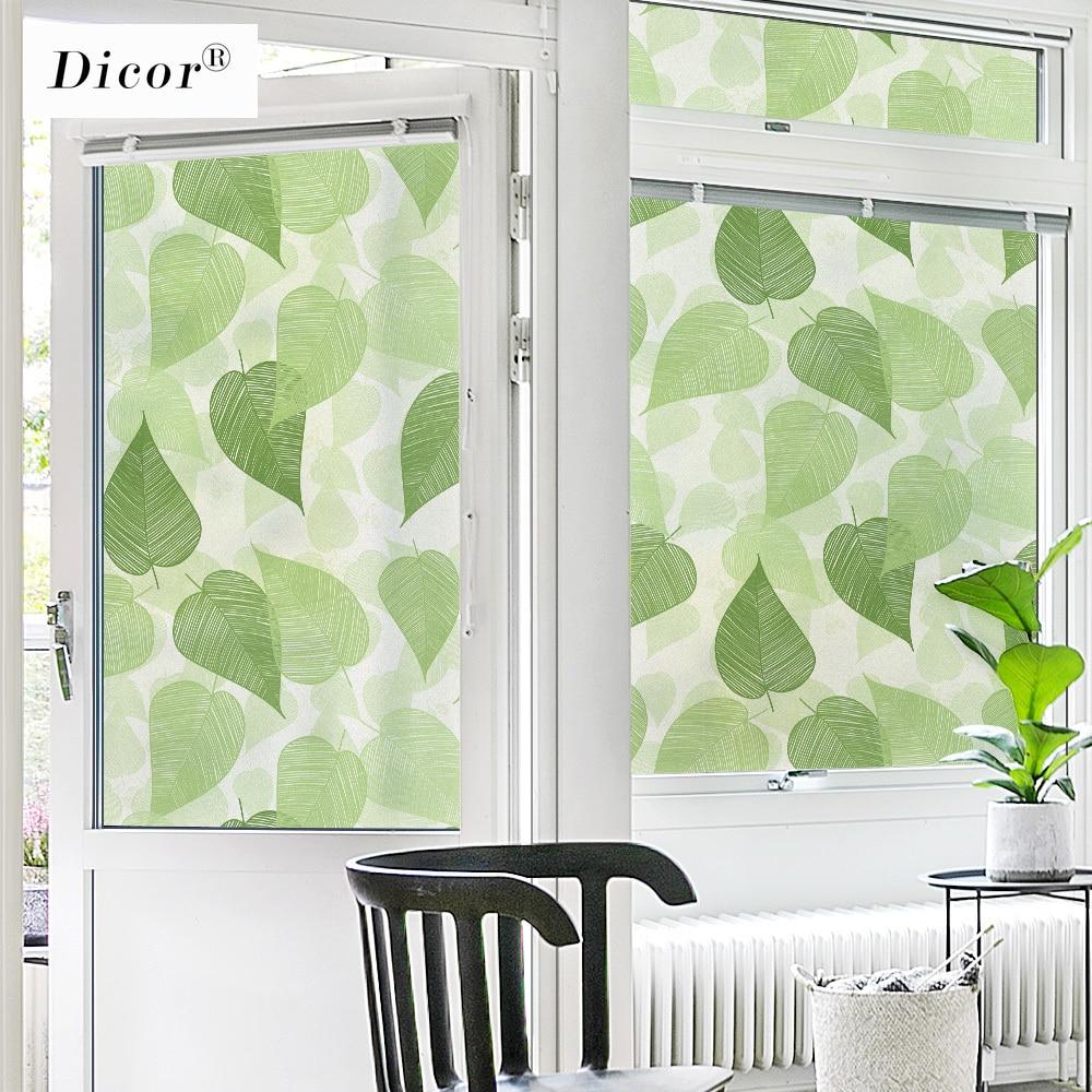 DICOR Genuine BLT2857, película de vidrio para ventana, hojas de privacidad, pegatinas de vidrio, transferencia de calor, vinilo, adhesivo para puerta de vidrio, moda de verano 2020