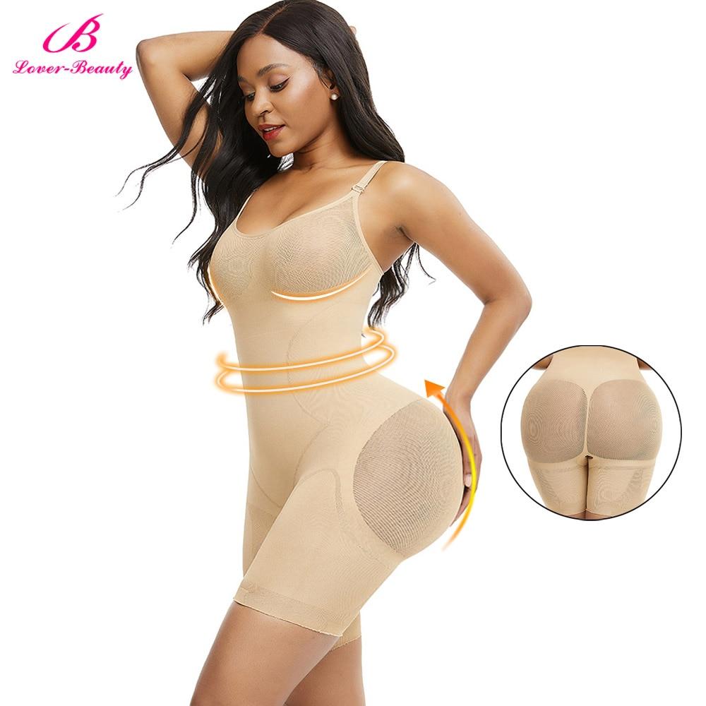 Seamless Full Body Shaper Tummy Control Panties Push Up Breathable Slimming Shapewear Women Corset Waist Trainer Butt lifter