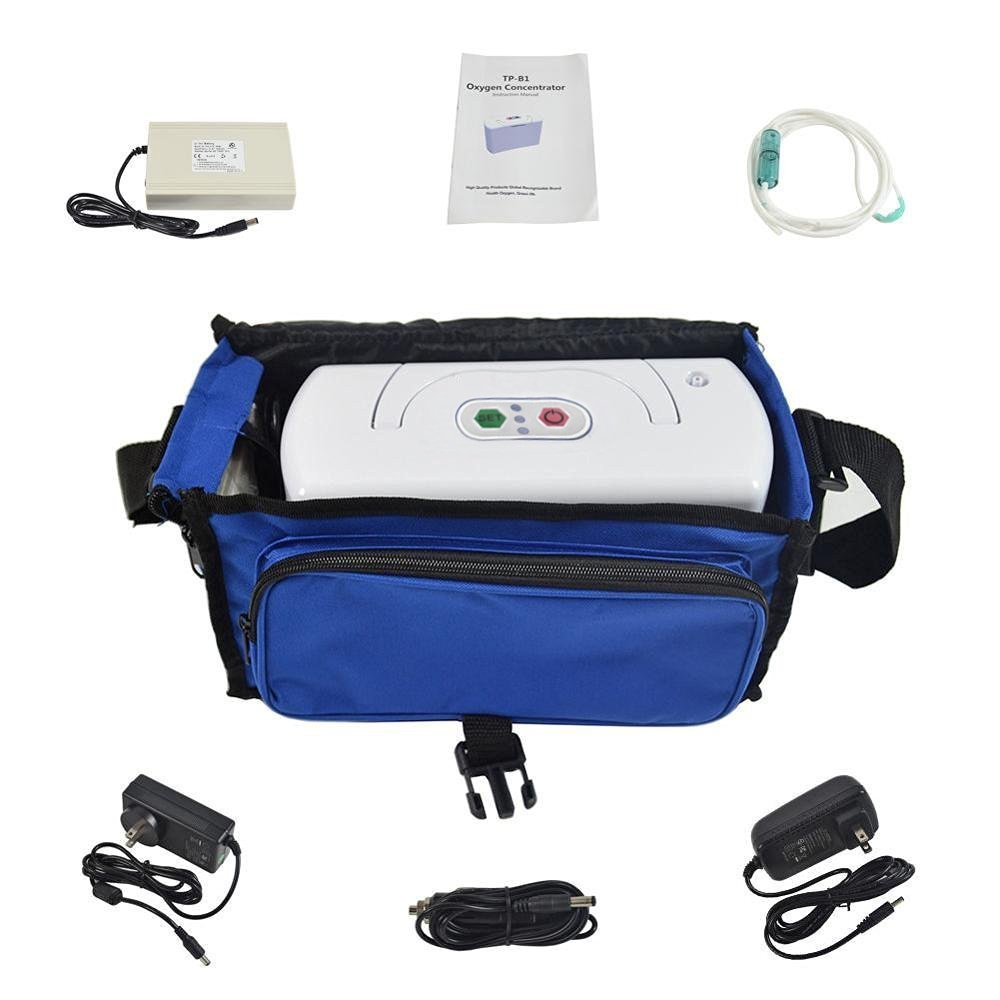 3L battery portable oxygen concentrator with car charger enlarge