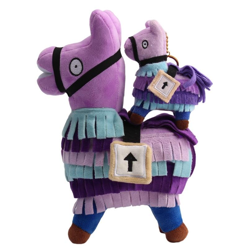 PUBG Troll Stash Llama Plush Toy Hot Game Soft Alpaca Rainbow Horse Stash Stuffed Doll Toys Kids Birthday Gift