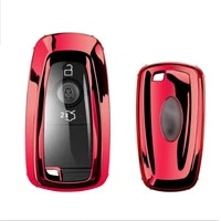 funny soft tpu car key case full cover for ford fusion mustang explorer f150 f250 f350 ecosport edge s max ranger lincoln mondeo