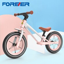 FÜR IMMER JY-X06 12 Zoll Kinder Balance Fahrrad Super-licht Fahrrad für Jungen und Mädchen ohne Pedale Baby Schiebe Bikes
