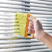 useful microfiber window cleaning brush removable and washable to clean the vent blinds brush cleaning tool