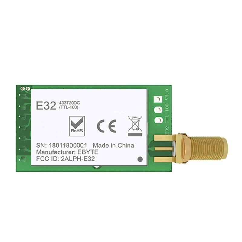 LORA SX1278 433MHz RF Module Transmitter Receiver E32-433T30D UART Long Range 433 MHz 1W Wireless Rf Transceiver