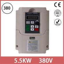 Onduleur 380V 4KW à 5.5KW   Convertisseur de fréquence à sortie trois phases/lecteur de vitesse réglable/onduleur de fréquence/VFD