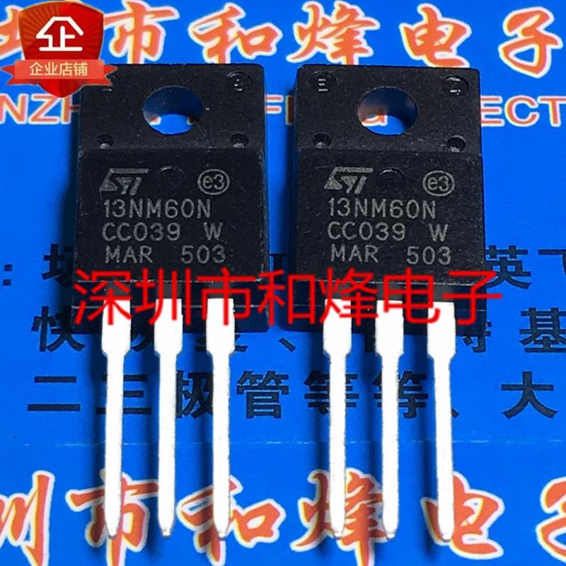 Original 5pcs/ 13NM60N STF13NM60N TO-220F 650V 11A