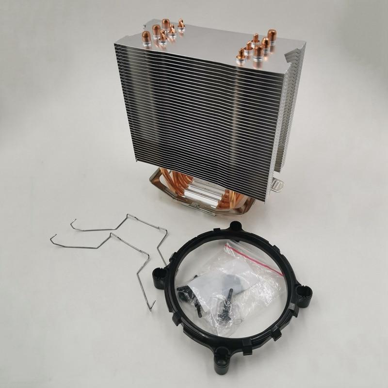 Enfriador de CPU de 12cm sin ventilador, 6 tuberías de calor Sin ventilador, disipador de calor de Cpu para 775/1150/1155/1156/1366 para AMD All