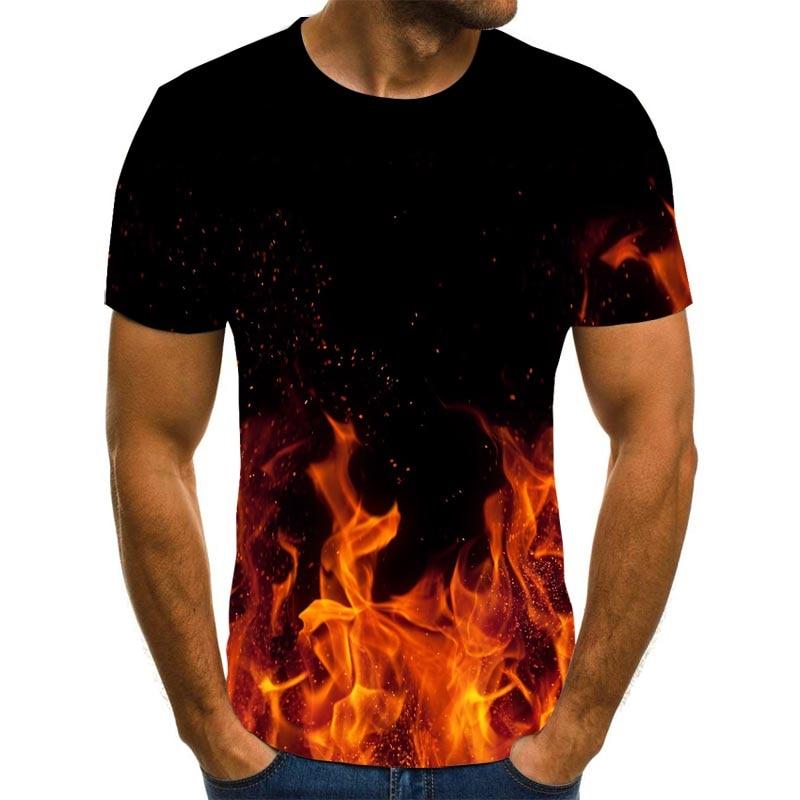 ¡Novedad de 2020! Camiseta con estampado 3D de anime con personalidad para...