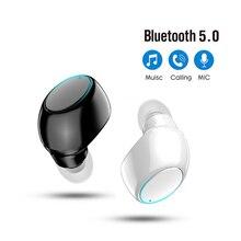 X6 Mini 5.0 Bluetooth Earphone Sport Gaming Headset with Mic Wireless headphones Handsfree Stereo Ea