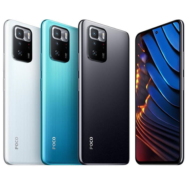 Global Version Xiaomi Mi POCO X3 GT Phone 5G Smartphone 8GB 256GB NFC MTK1100 67W 120Hz 5000mAh 64MP Triple Camera Smartphone enlarge