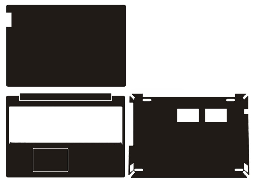 "Funda adhesiva de piel de vinilo de fibra de carbono para Lenovo IdeaPad L340-15IRH L340-15iwl L340-15 L340 15,6"""