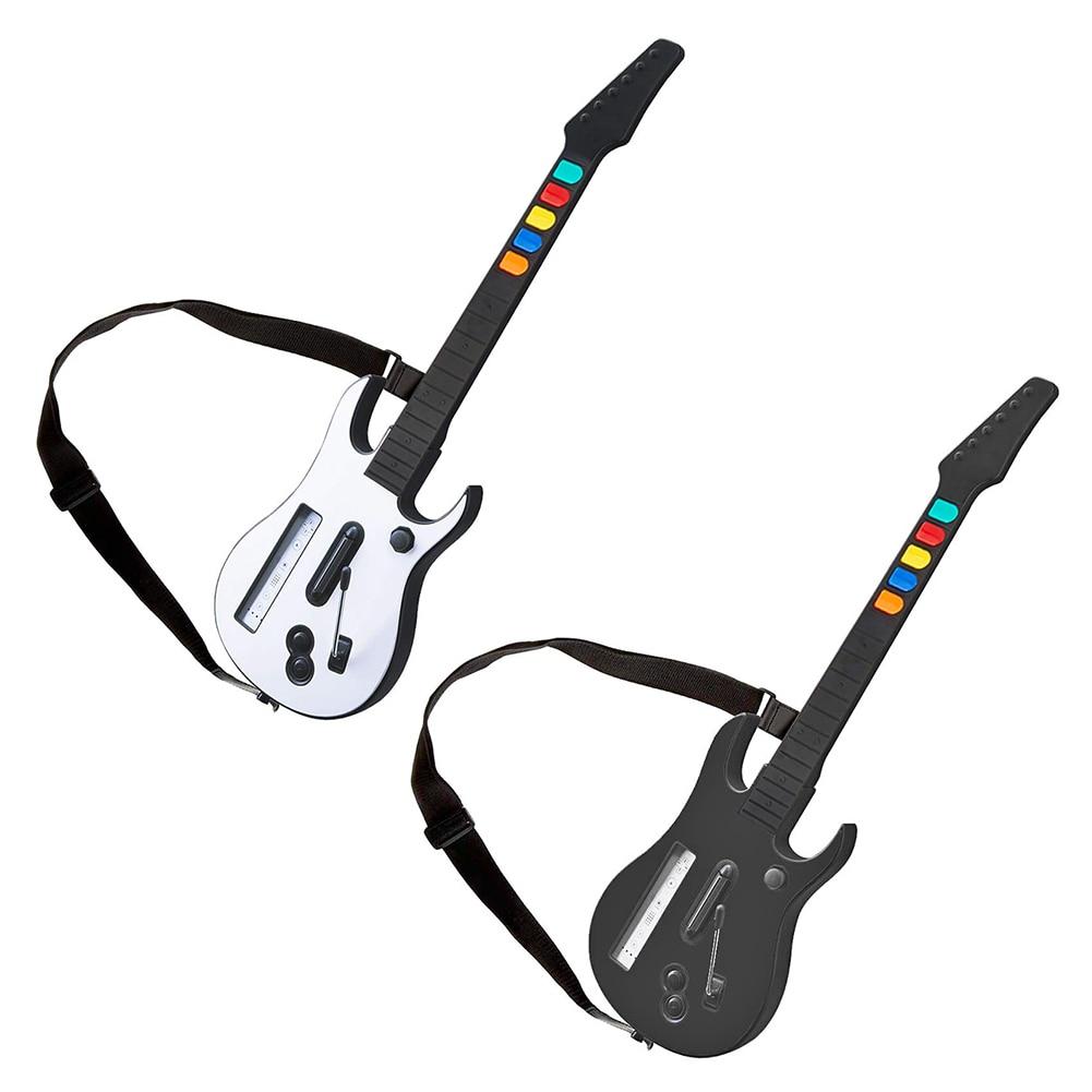 وحدة تحكم لاسلكية مع حزام قابل للتعديل ل وي الغيتار بطل روك باند 3 2 وحدة تحكم لاسلكية مع حزام قابل للتعديل ل وي غو