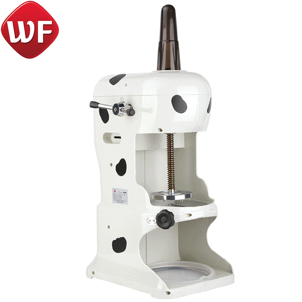 Electric Ice Planer Shaved Snowy Shave Ice Machine for Commercial Kitchen Appliances enlarge