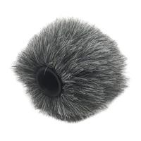 microphone plush windscreen muff camera mic cover slr mic protector supply