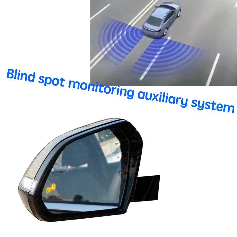 نظام BSD BSM BSA للسيارة مزود بمرآة لتحديد المناطق العمياء نظام اكتشاف الرادار الخلفي للسيارة Hyundai Sonata LF 2014 ~ 2019