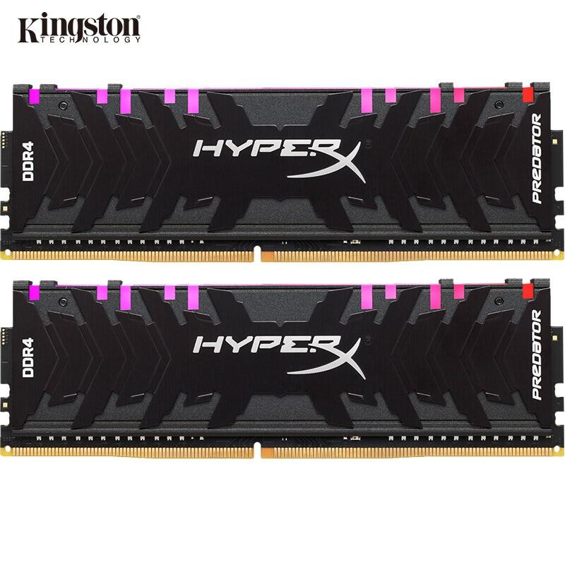 Kingston HyperX Predator RGB DDR4 8GB 16GB 3000MHz 3200MHz 3600MHz 4000MHz DIMM...