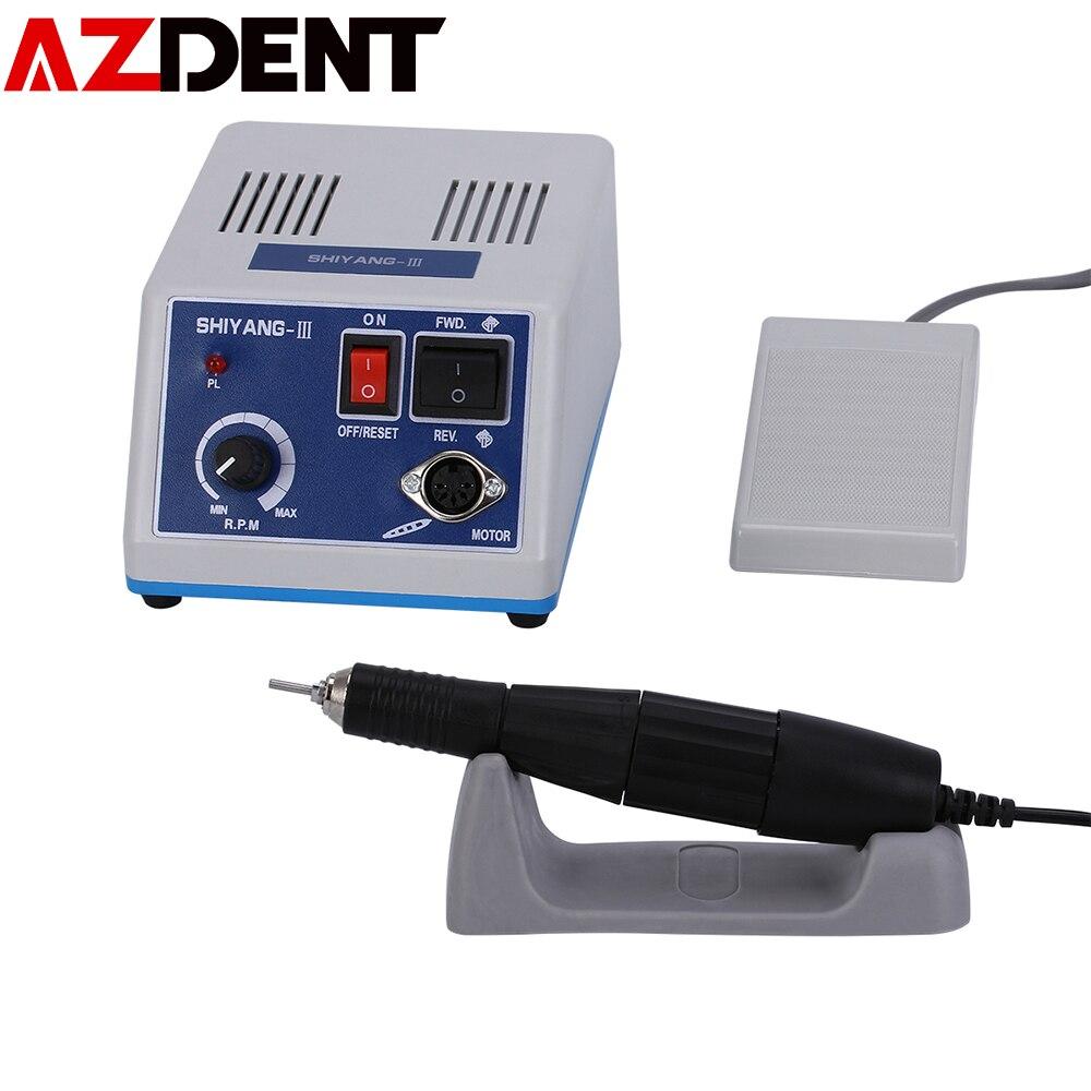 جهاز صنفرة الأسنان الكهربائي ، محرك دقيق يدوي للمختبر N3 ، محرك دقيق وتلميع الماراثون ، قبضة 35K rpm 102L