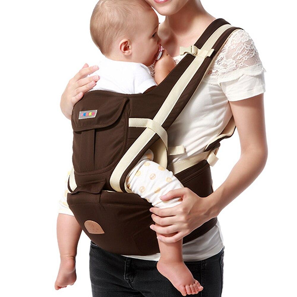 Дышащий эргономичный рюкзак-переноска для новорожденных, переноска для младенцев, кенгуру, Хипсит, Хипсит, слинг для ребенка, переноска, рюк... рюкзаки кенгуру evenflo переноска active