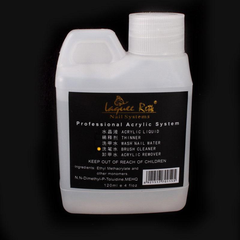 1PC 120ml Professional Acrylic Brush Cleaner Liquid For Nail Art UV Gel Nail Polish Remover Nail Tip