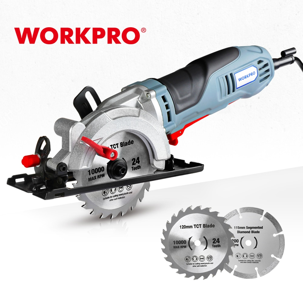 aliexpress.com - WORKPRO Electric Mini Circular Saw 710W Multifunctional Electric Saw With TCT Blade and Diamond Blade Sawing Machine Power Tools
