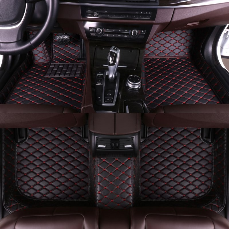 Custom Car Floor Mats for Maserati all models Levante GranTurismo quattroporte Ghibli car styling auto accessories