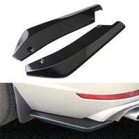 2pcs universal car rear bumper lip diffuser splitter spoiler scratch protector