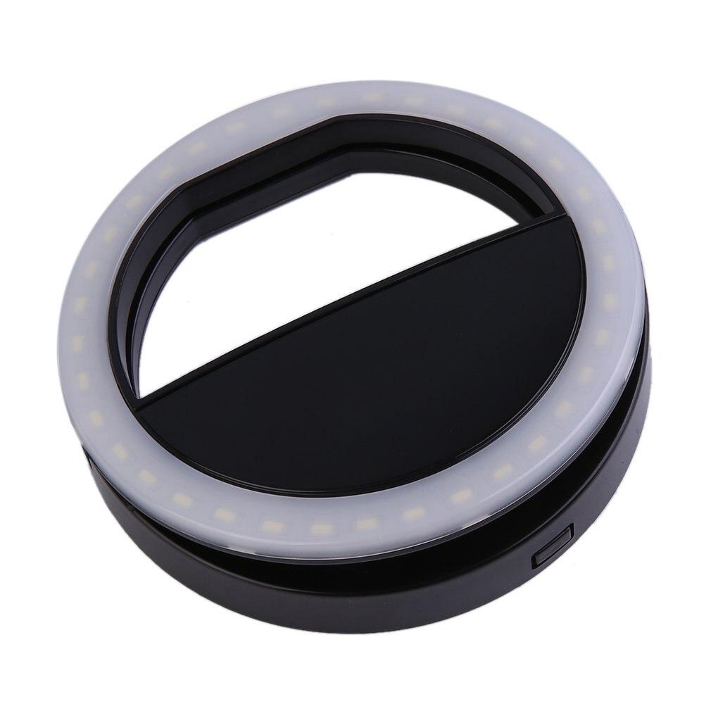 Luz de Selfie Universal portátil para teléfono móvil, lámpara luminosa de diseño con Clip, luz de Flash LED, anillo de teléfono para Iphone/Samsung jul 6