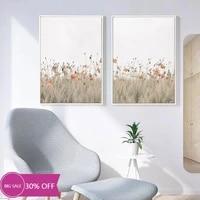 Toile de decoration de noel  affiche  fleur  mur de mer  Art decoratif  image pour decoration de salon  decoration de maison