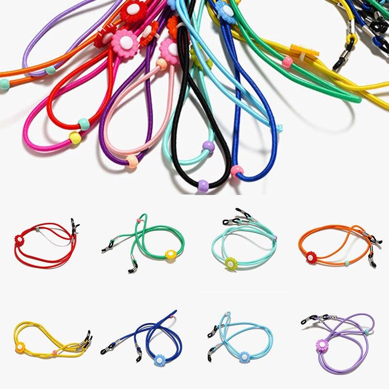 Детский шнурок для очков, Детская стеклянная цепочка для солнцезащитных очков, шнур для очков, детское нескользящее ожерелье, шнурок для оч...