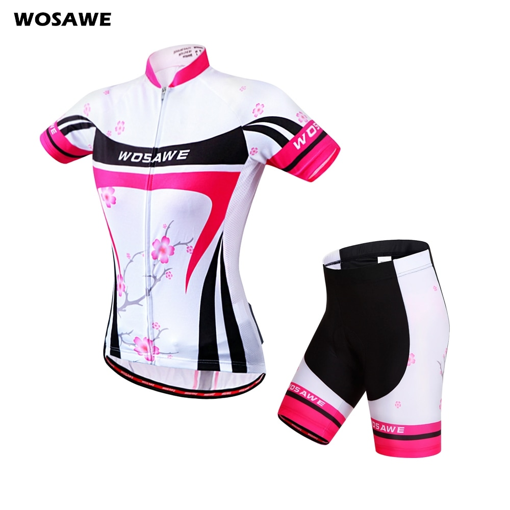AliExpress - WOSAWE Summer Women Cycling Jersey Set Short Sleeve Cycling Clothing Breathable Mountain Bike MTB Clothes Slim Quick-Dry S-XL
