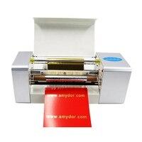 Amydor 360 Foil Printer Computer Control Hot Foil Stamping Machine High Quality Digital Foil Ribbon Printer
