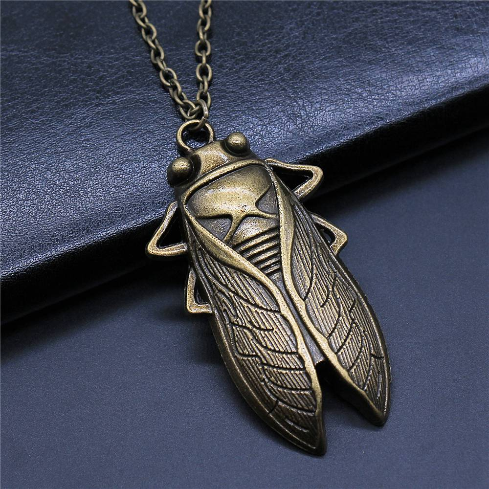 1 Piece chain necklace Dragonfly Butterfly pendant necklace pendant handmade necklace male pendant