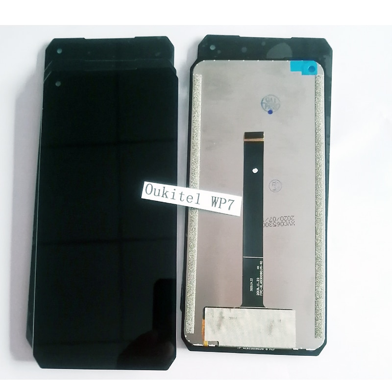 100% Original Oukitel WP7 LCD Display and Touch Screen Digitizer Assembly Replacement +Tools+Adhesive 6.53'' 19.5:9  FHD Display enlarge